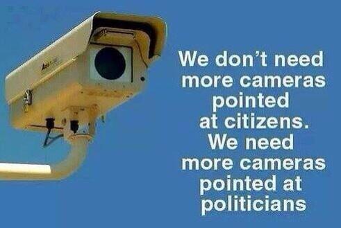 camera politiek